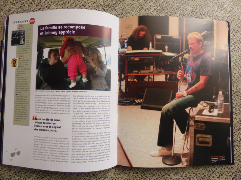 [livre] Johnny Hallyday notre icône P1070817