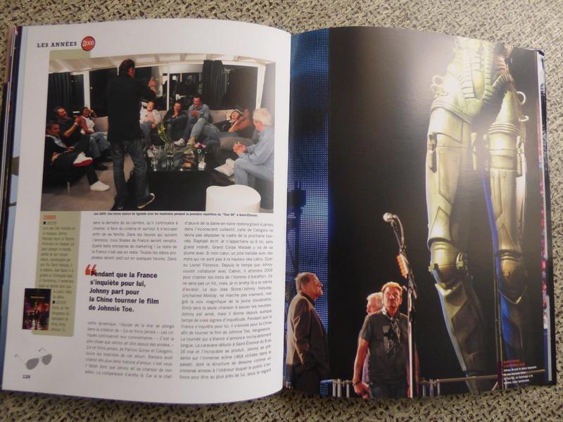 [livre] Johnny Hallyday notre icône P1070819