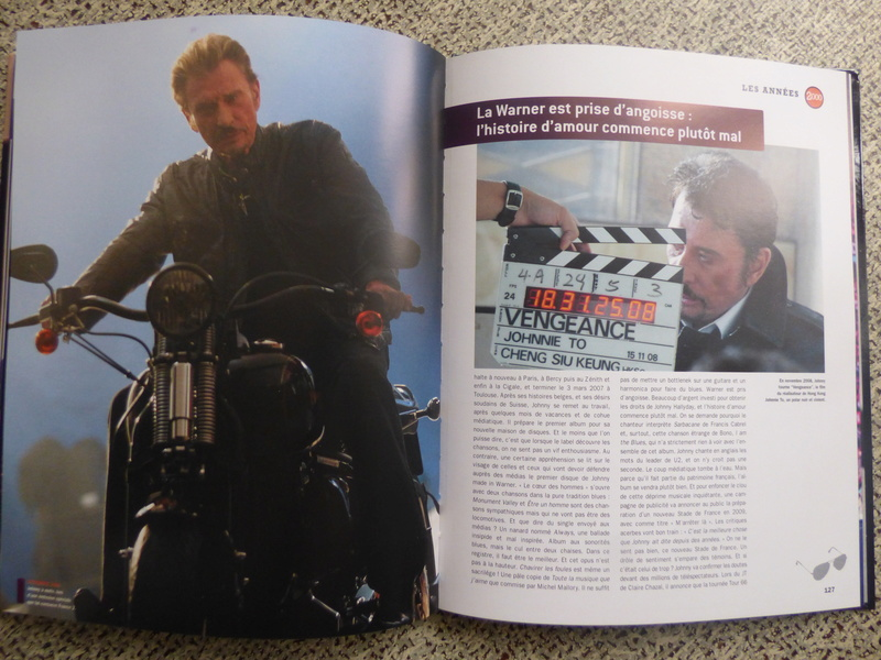 [livre] Johnny Hallyday notre icône P1070821