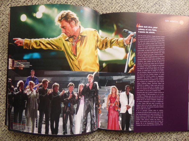 [livre] Johnny Hallyday notre icône P1070822