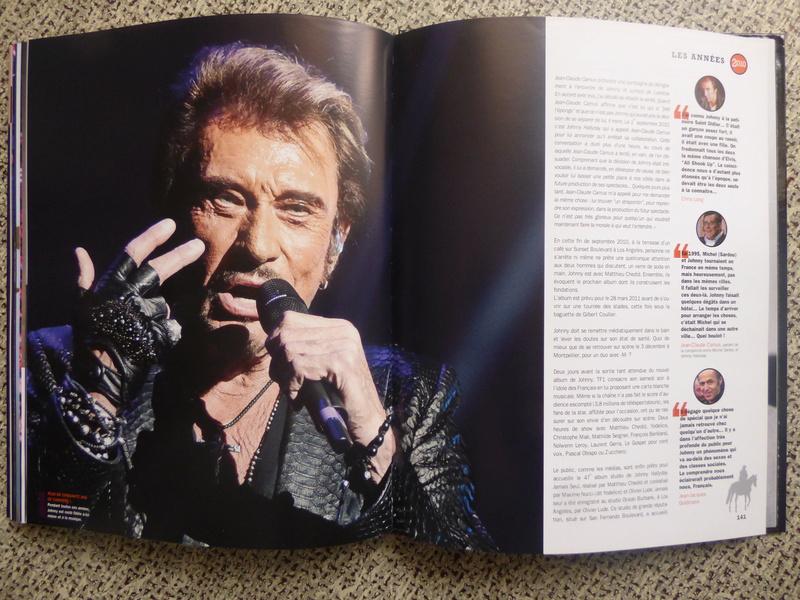 [livre] Johnny Hallyday notre icône P1070826