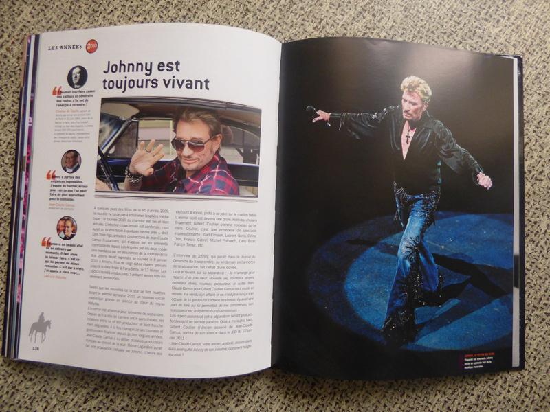 [livre] Johnny Hallyday notre icône P1070827