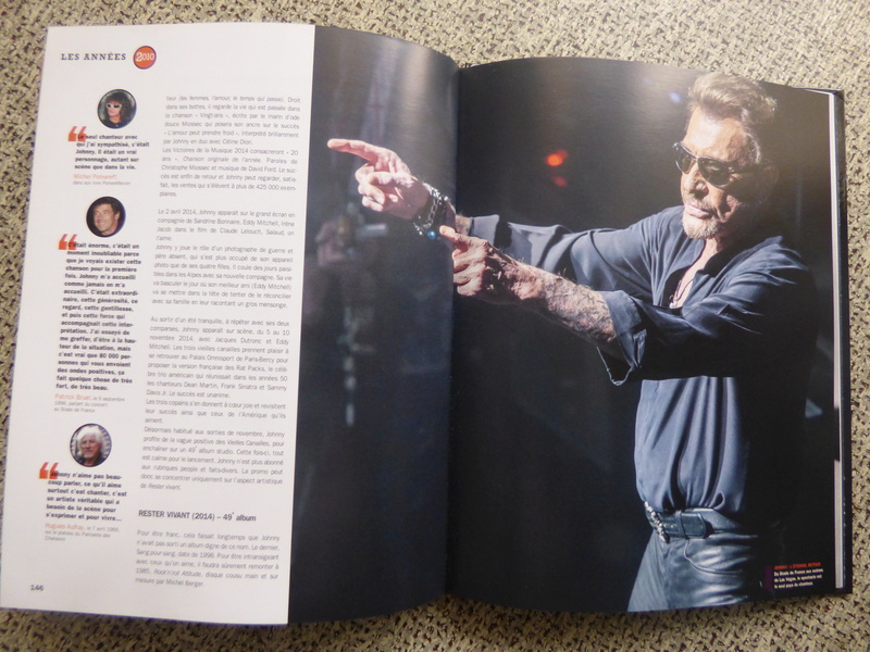 [livre] Johnny Hallyday notre icône P1070830