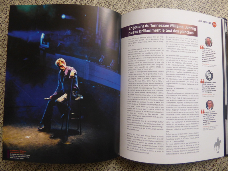 [livre] Johnny Hallyday notre icône P1070831