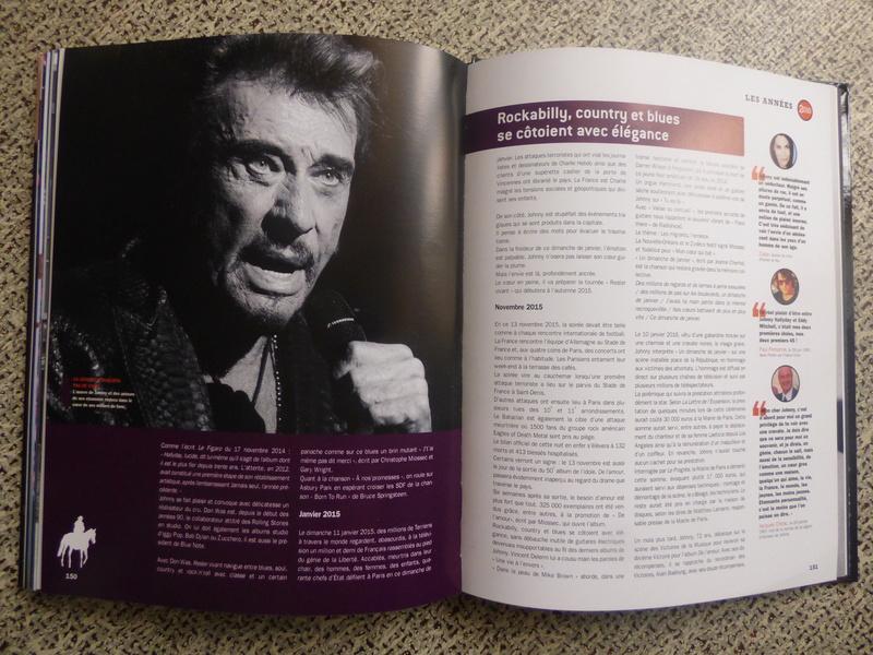 [livre] Johnny Hallyday notre icône P1070833