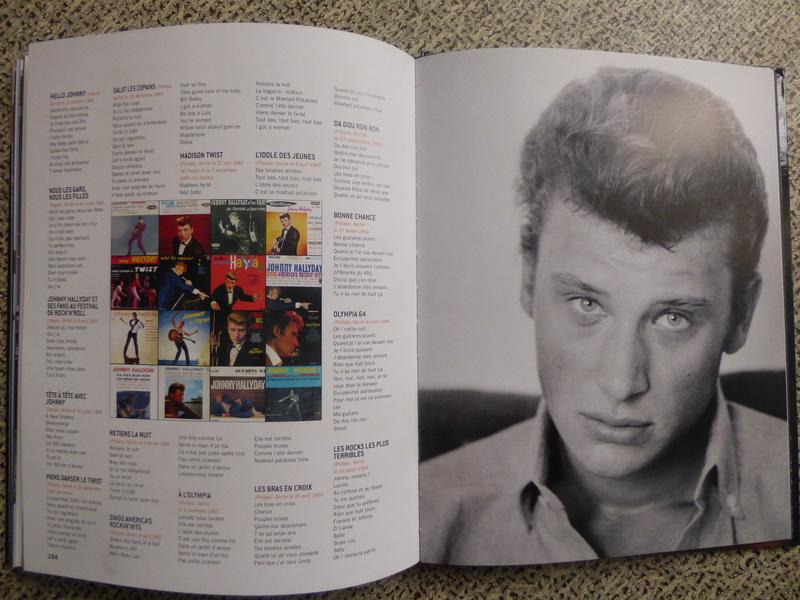 [livre] Johnny Hallyday notre icône P1070836