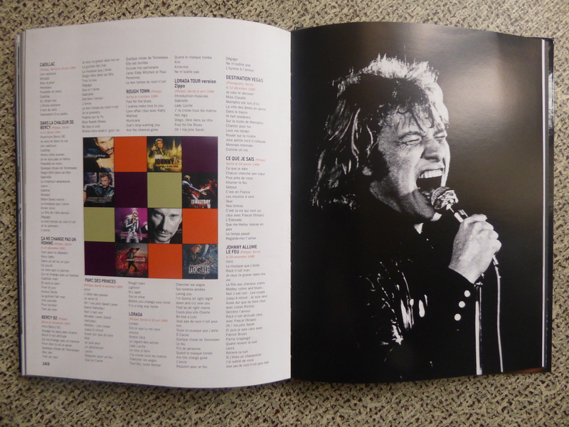 [livre] Johnny Hallyday notre icône P1070839