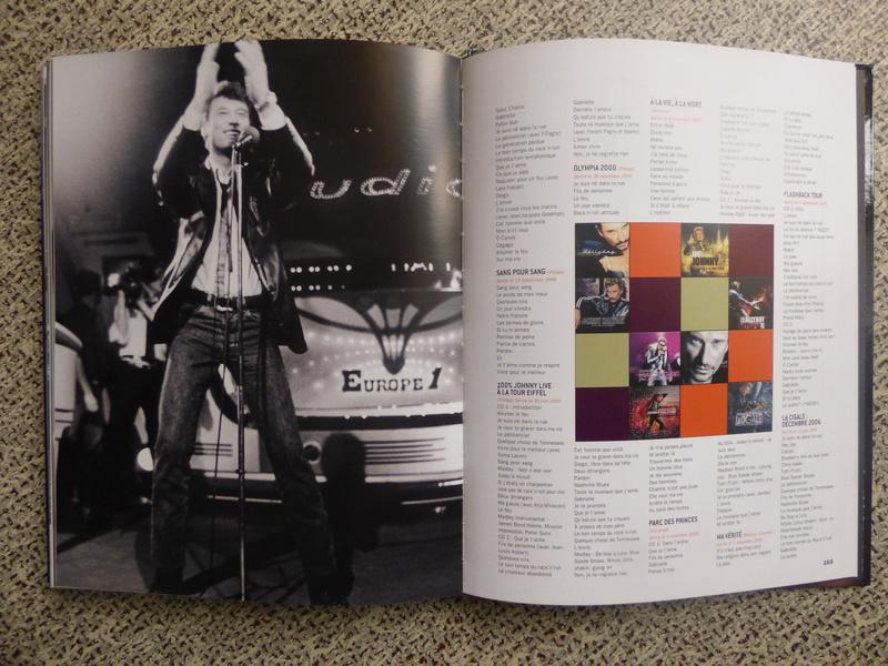 [livre] Johnny Hallyday notre icône P1070840