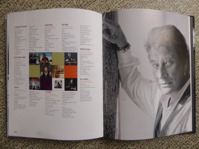 [livre] Johnny Hallyday notre icône P1070841