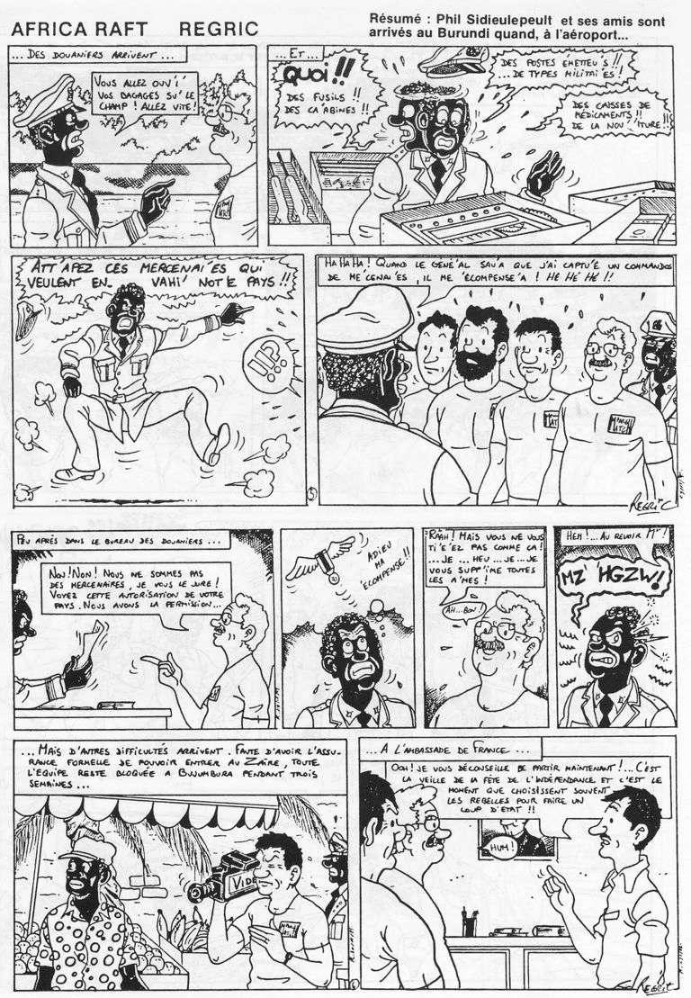 Régric : les autres bandes dessinées - Page 2 Africa10
