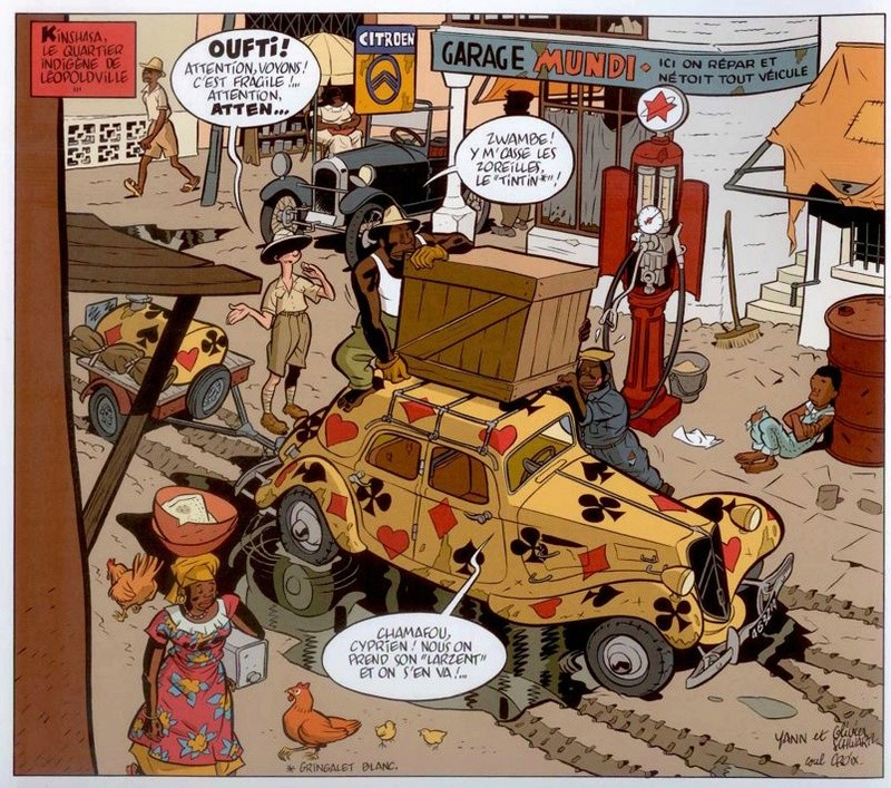 Spirou et ses dessinateurs - Page 8 Hostie11