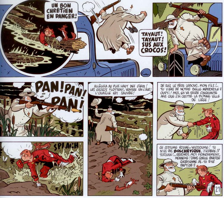 Spirou et ses dessinateurs - Page 8 Hostie14