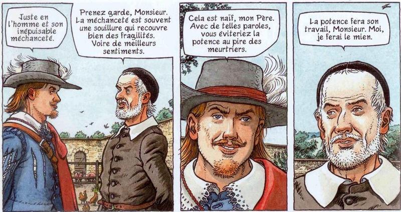 Double Masque et autres BD de Dufaux et Jamar Monsie10