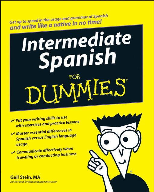 تحميل كتاب Intermediate Spanish For Dummies  Oo10