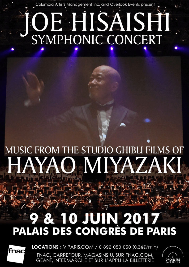Joe Hisaishi en concert à Paris! 16179310