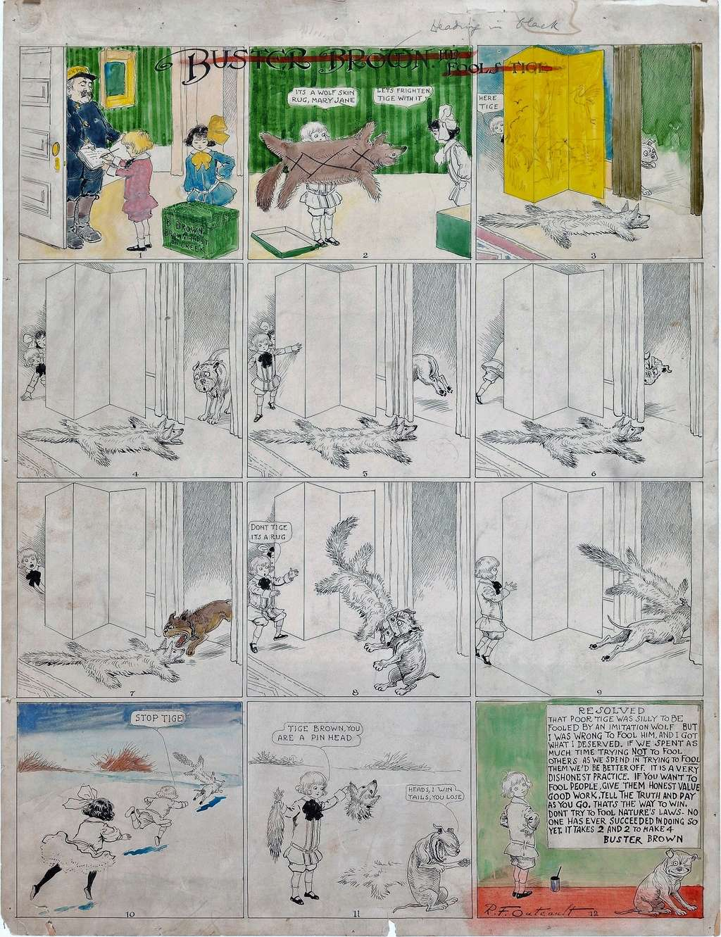 Les facéties de Buster Brown - Page 2 Buster10