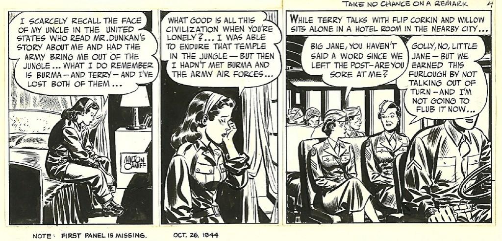 Terry et les pirates de Milton CANIFF - Page 7 Caniff10