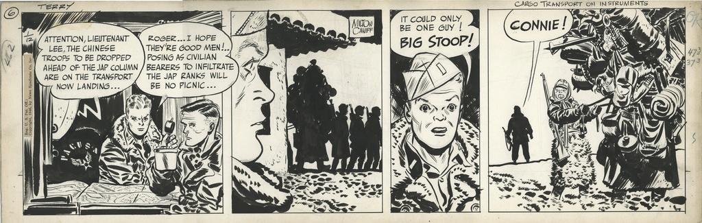 Terry et les pirates de Milton CANIFF - Page 7 Caniff18
