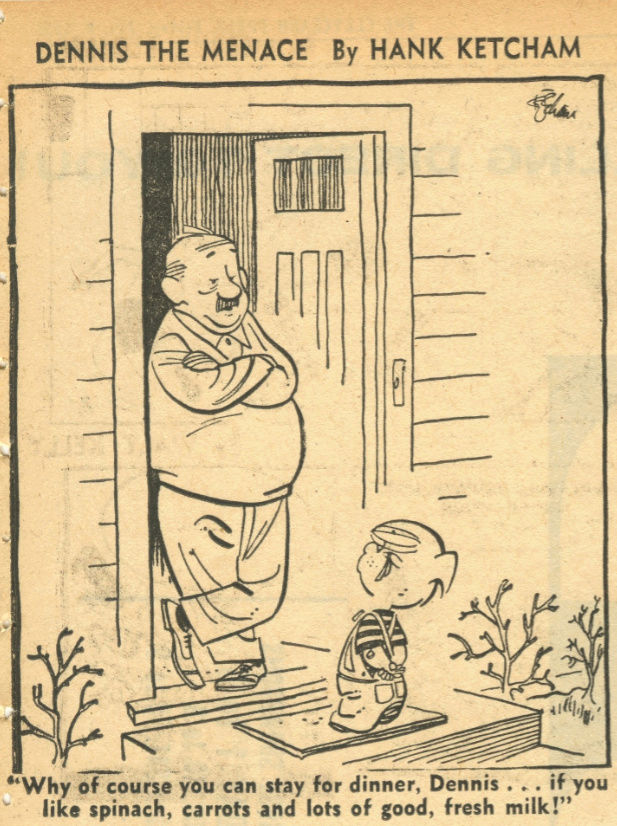 Hank Ketcham et Dennis the Menace ( Denis la Malice ) - Page 5 Dennis12