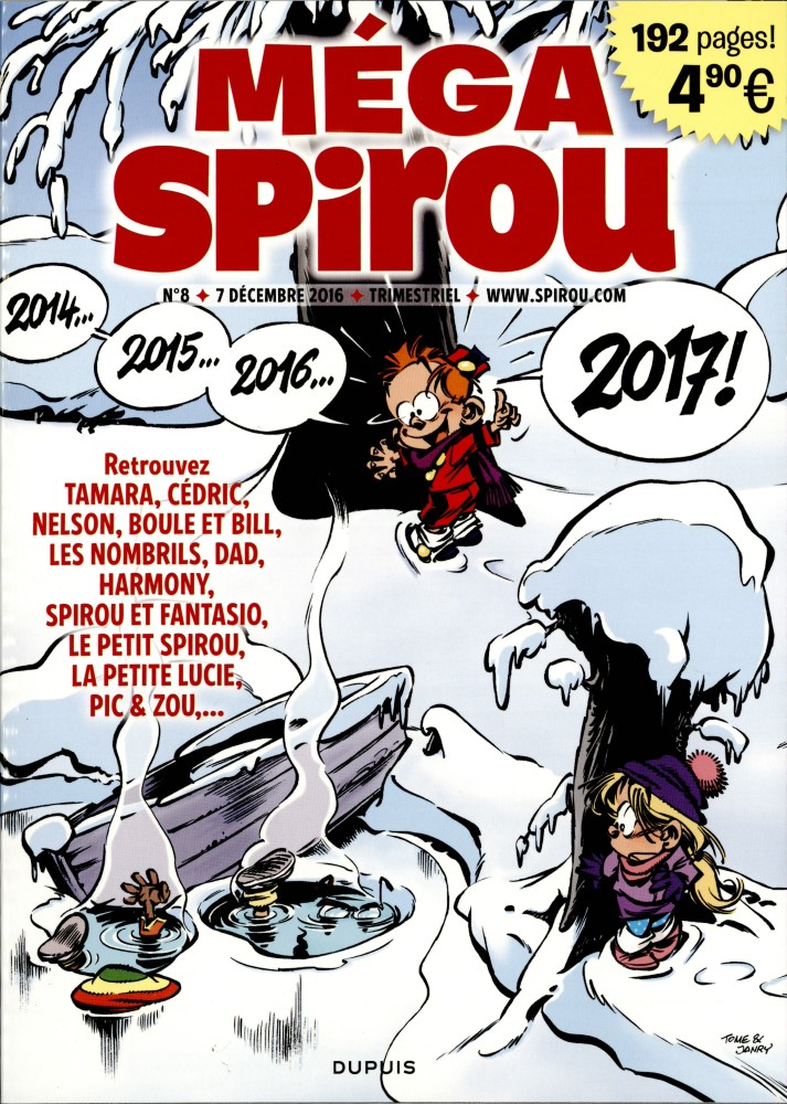 Spirou ... le journal - Page 18 Megasp10
