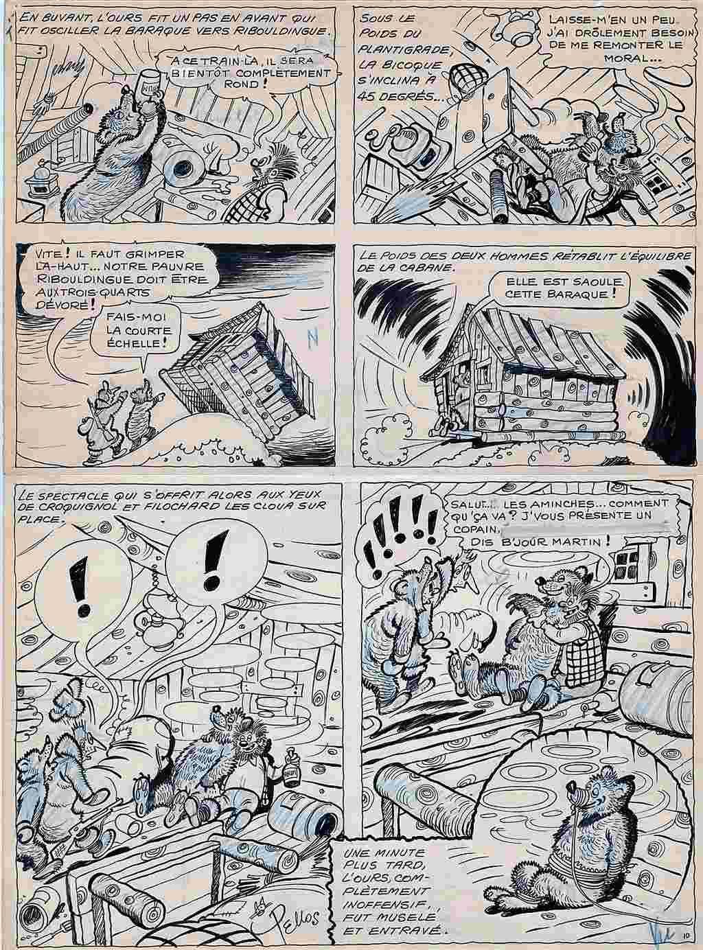 Les cases sportives de René PELLOS et autres séries toutes aussi remarquables - Page 3 Pellos10