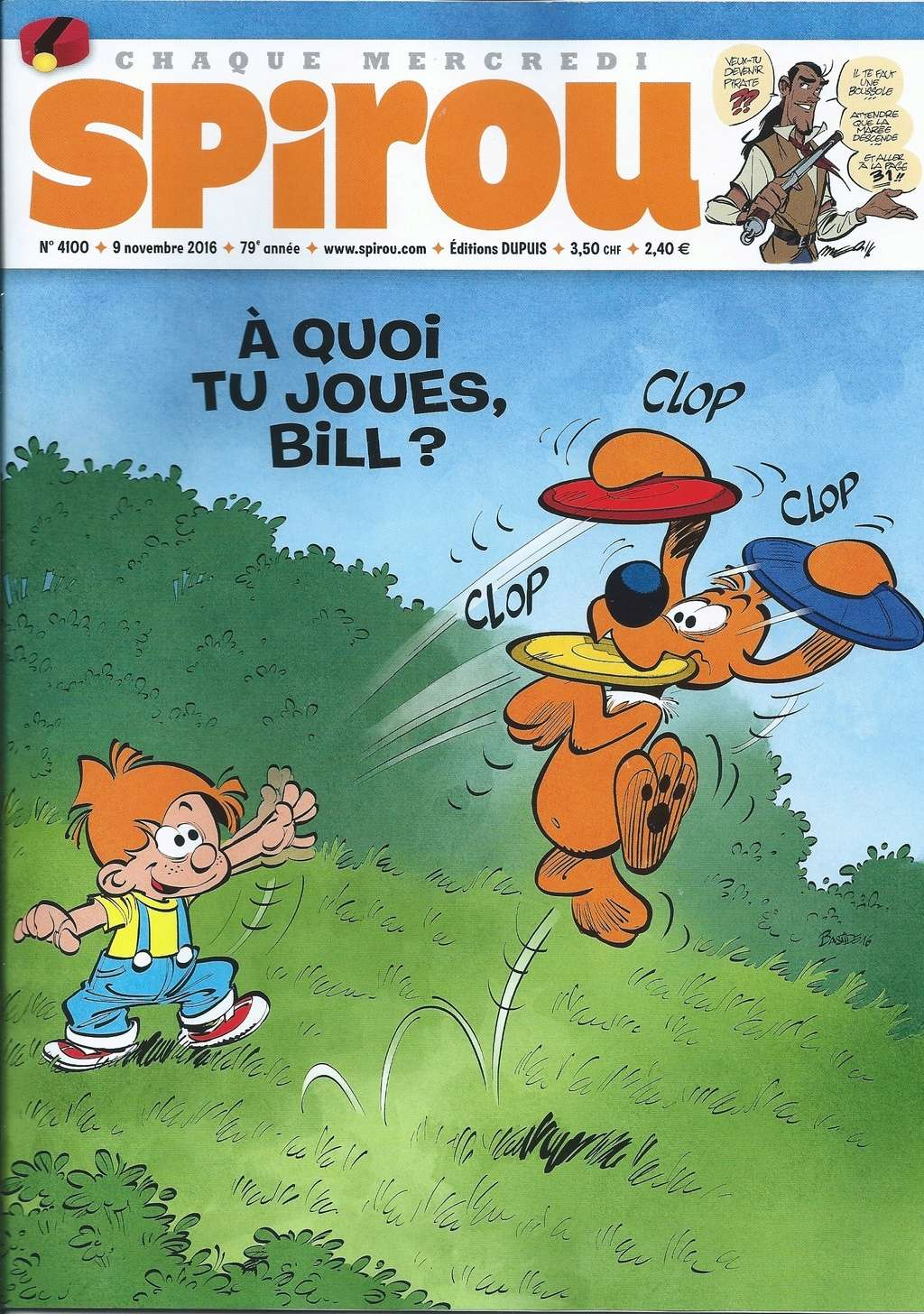 Spirou ... le journal - Page 18 Spirou10