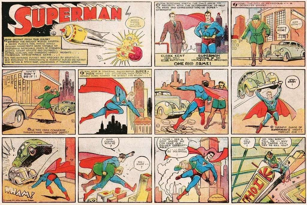 Comic books et super-héros Superm10