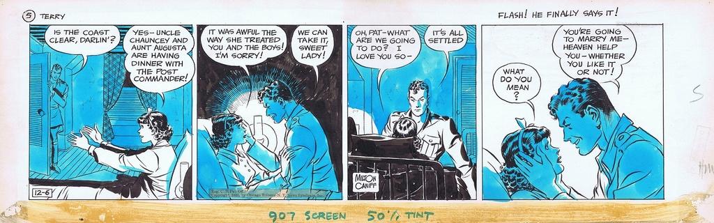 Terry et les pirates de Milton CANIFF - Page 7 Terry110