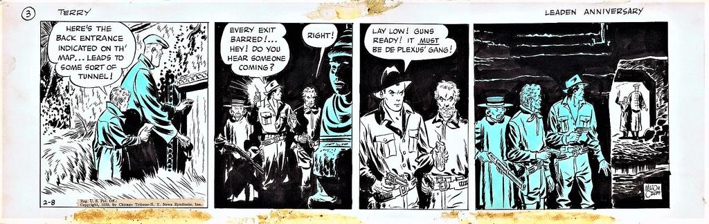 Terry et les pirates de Milton CANIFF - Page 7 Terry210
