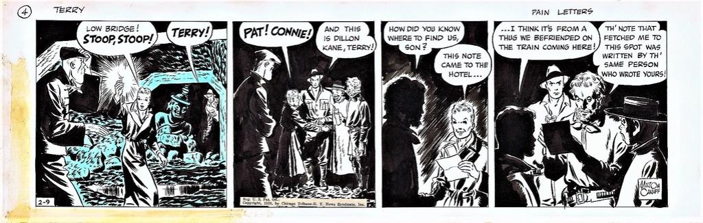 Terry et les pirates de Milton CANIFF - Page 7 Terry212