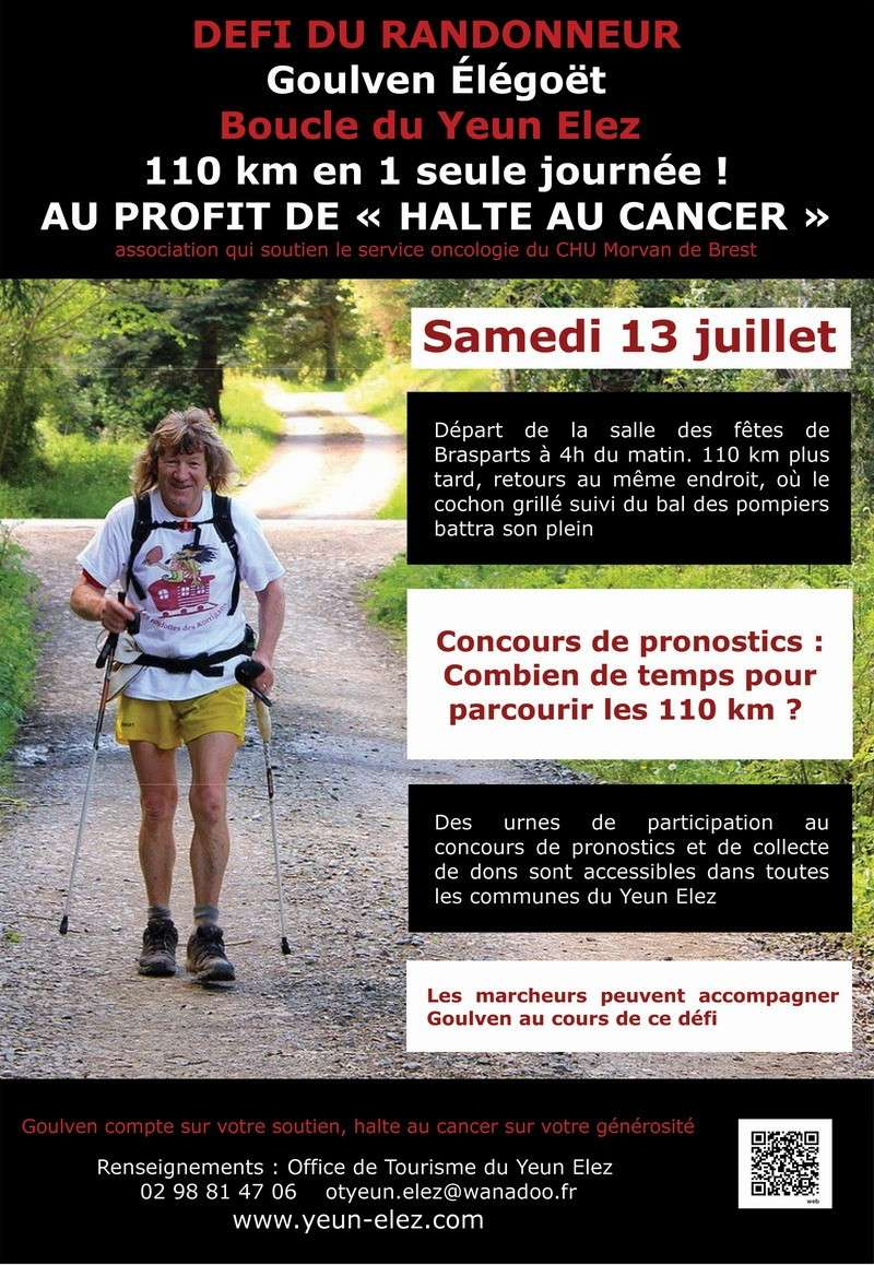 Défi de Goulven Elégoët : contre le cancer , samedi 13 juillet 2013 Goulve10