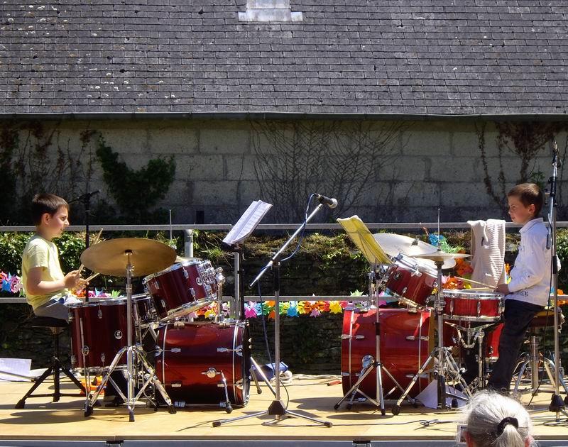 Fête de l'école de musique le 30 juin 2013 à Brasparts  Imgp4115
