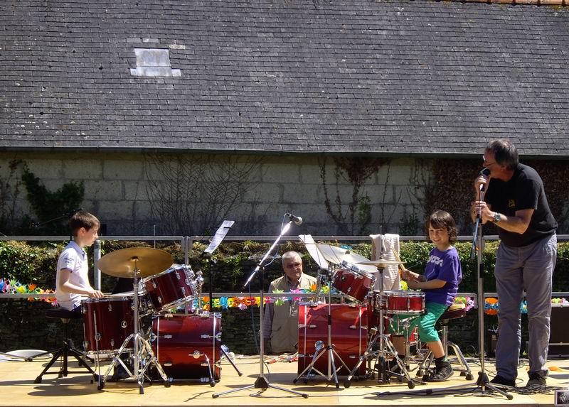 Fête de l'école de musique le 30 juin 2013 à Brasparts  Imgp4116