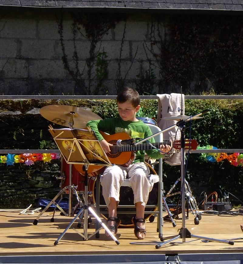 Fête de l'école de musique le 30 juin 2013 à Brasparts  Imgp4123