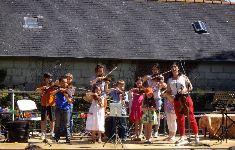 Fête de l'école de musique le 30 juin 2013 à Brasparts  Imgp4126