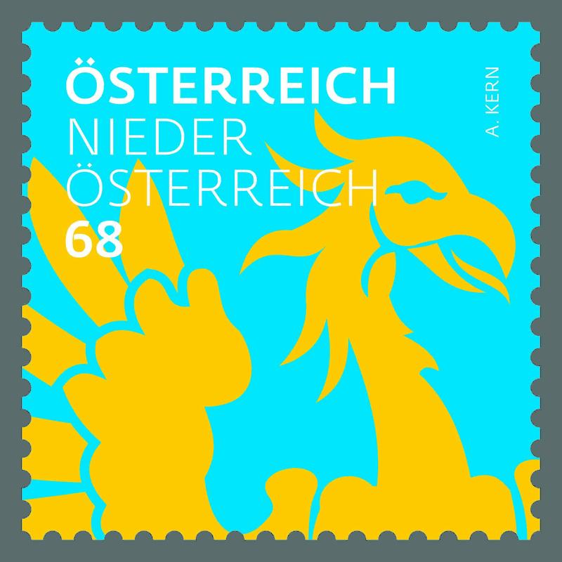 "Freimarkenserie ""Heraldik"" ab 1. Jänner 2017 0101_n11"