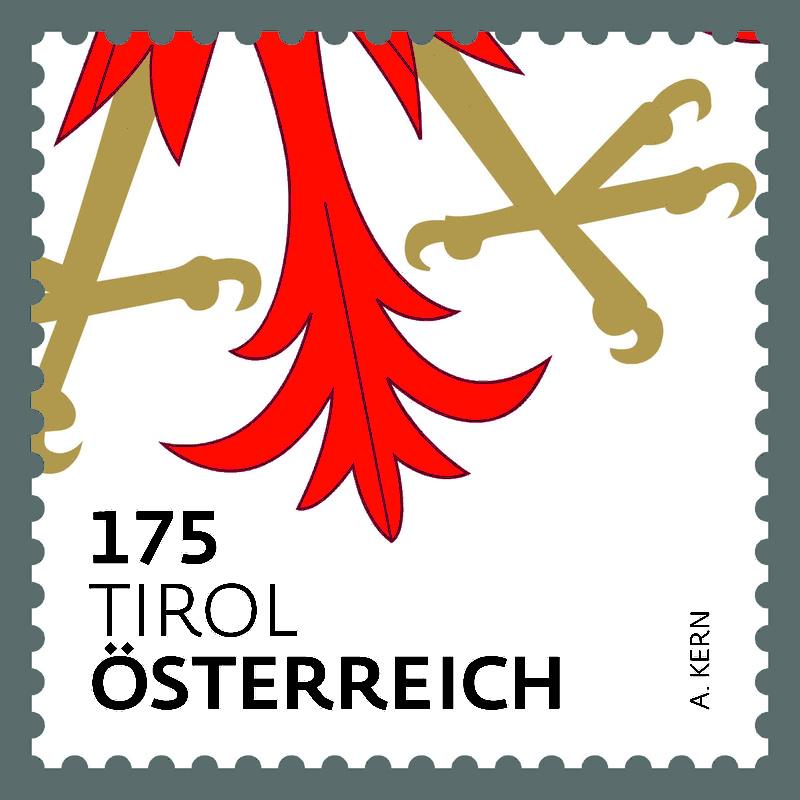 "Freimarkenserie ""Heraldik"" ab 1. Jänner 2017 0101_t11"