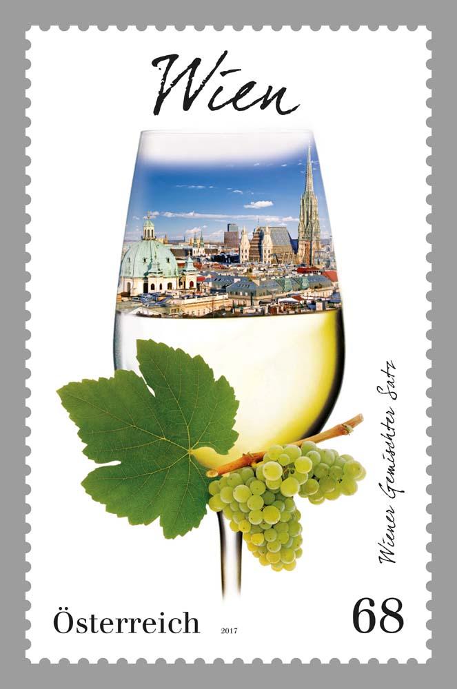 """Sondermarke """"Wien"""", Serie Weinregionen Österreichs 0315_w10"""