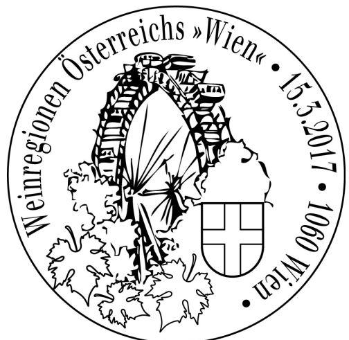 """Sondermarke """"Wien"""", Serie Weinregionen Österreichs 17031512"""