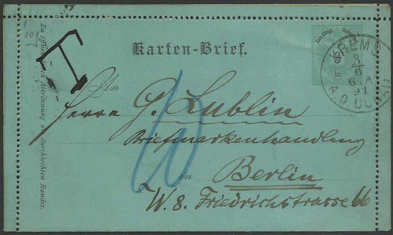 Kartenbriefe 19910610