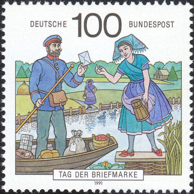 Briefträger / Postboten Brieft10