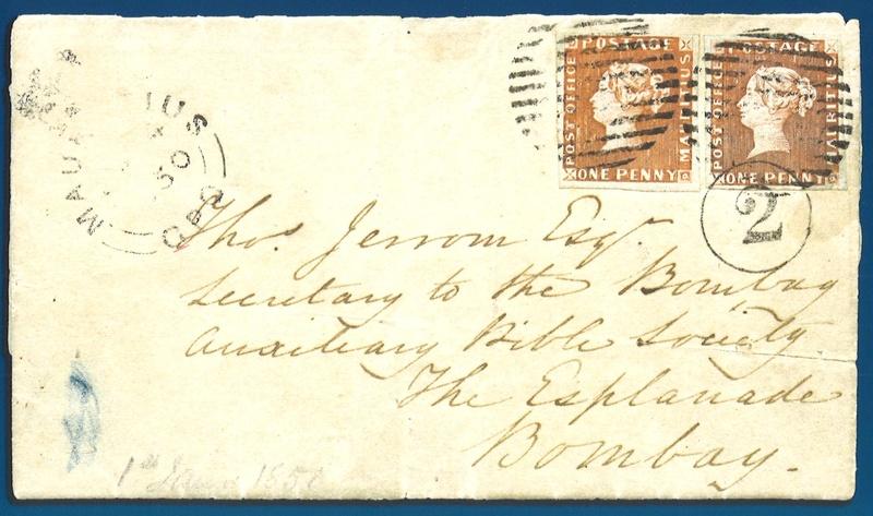 "Druckplatte der Mauritius ""Post Office-Marken"" verkauft Feldma11"
