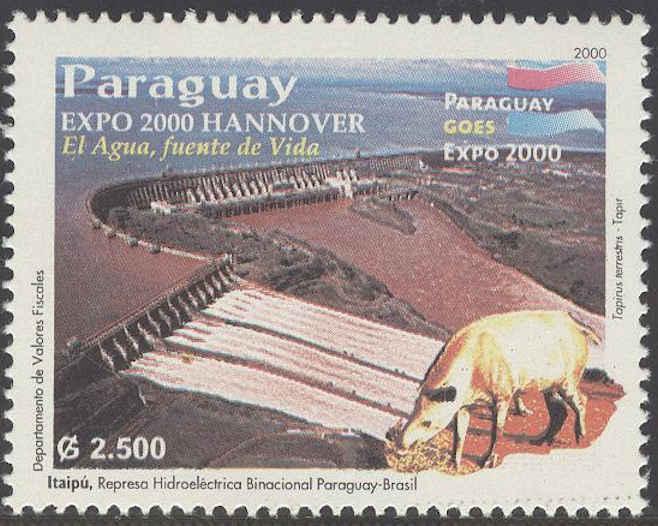 Briefmarken-Kalender 2016   - Seite 13 Itaipu10