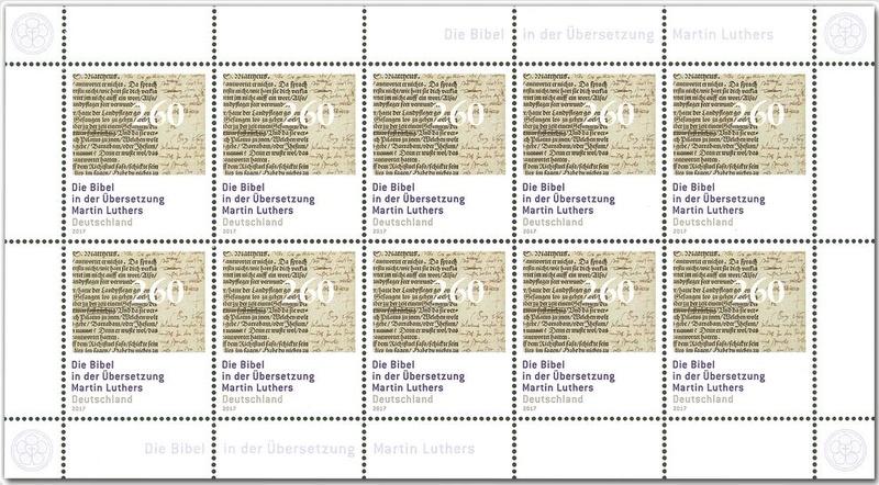 Neuausgaben 2017 - Deutschland Luther11