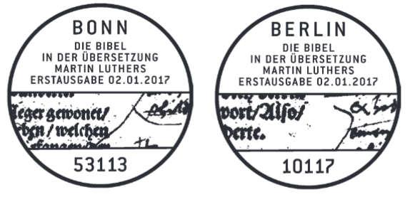 Neuausgaben 2017 - Deutschland Luther12