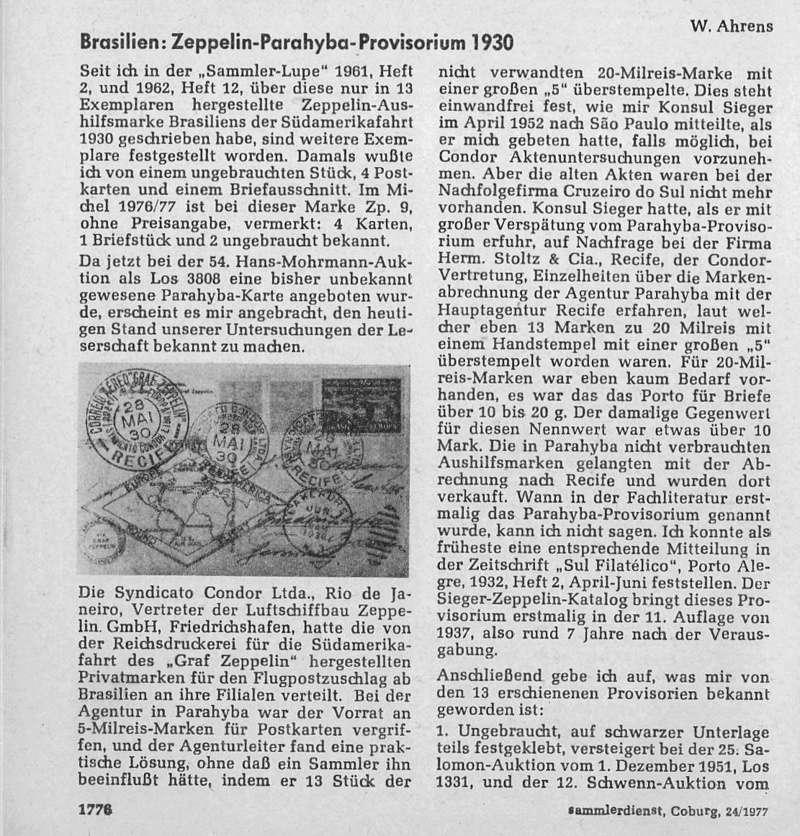 nach - LZ127 Fahrt nach Recife 22.5.1930 - Seite 2 Parahy10