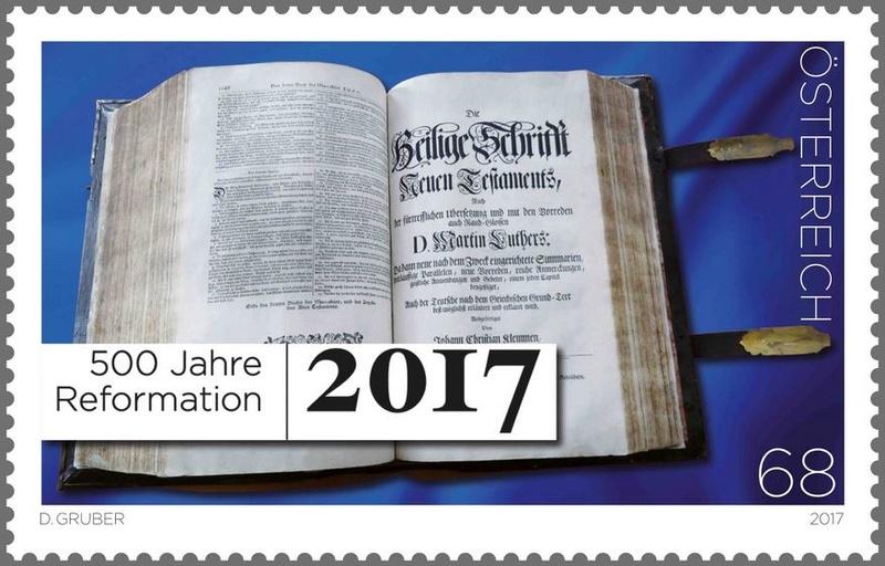"""SONDERMARKE """"500 Jahre Reformation"""" Reform10"""