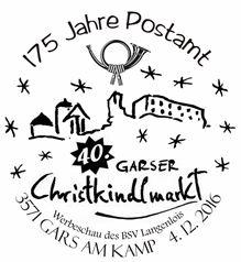 3. und 4. Dezember, Garser Christkindlmarkt Stempe10