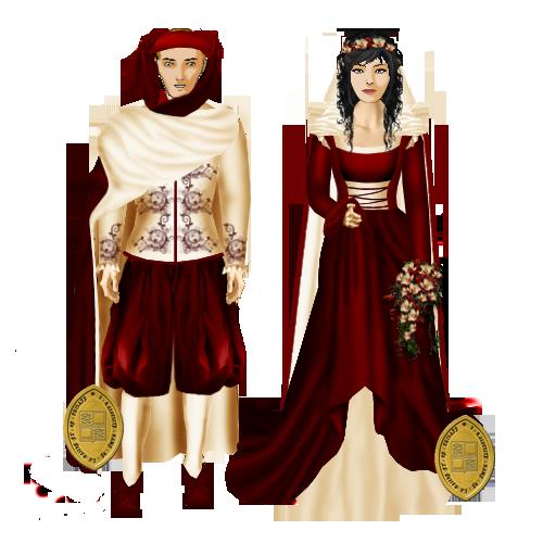 Mariage du baron pather et de Dame Tiamarys (2 janvier 1459) - Page 2 Couple10