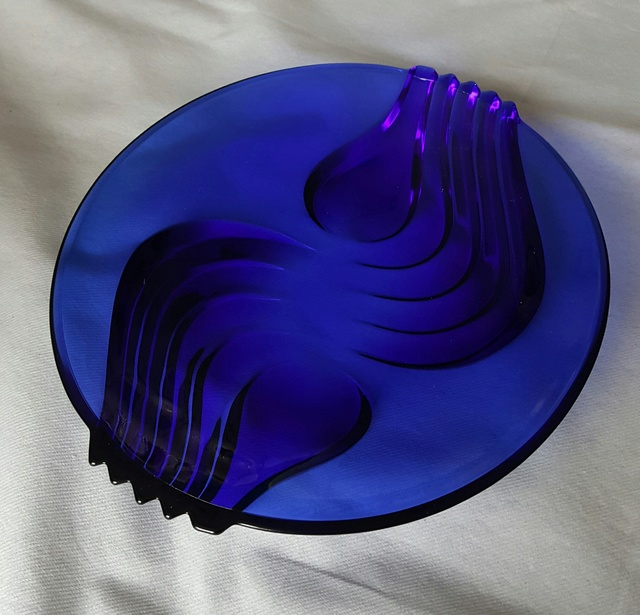 Cobalt Blue French Dish 20170112